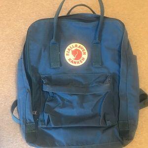 Fjallraven Kanken backpack blue